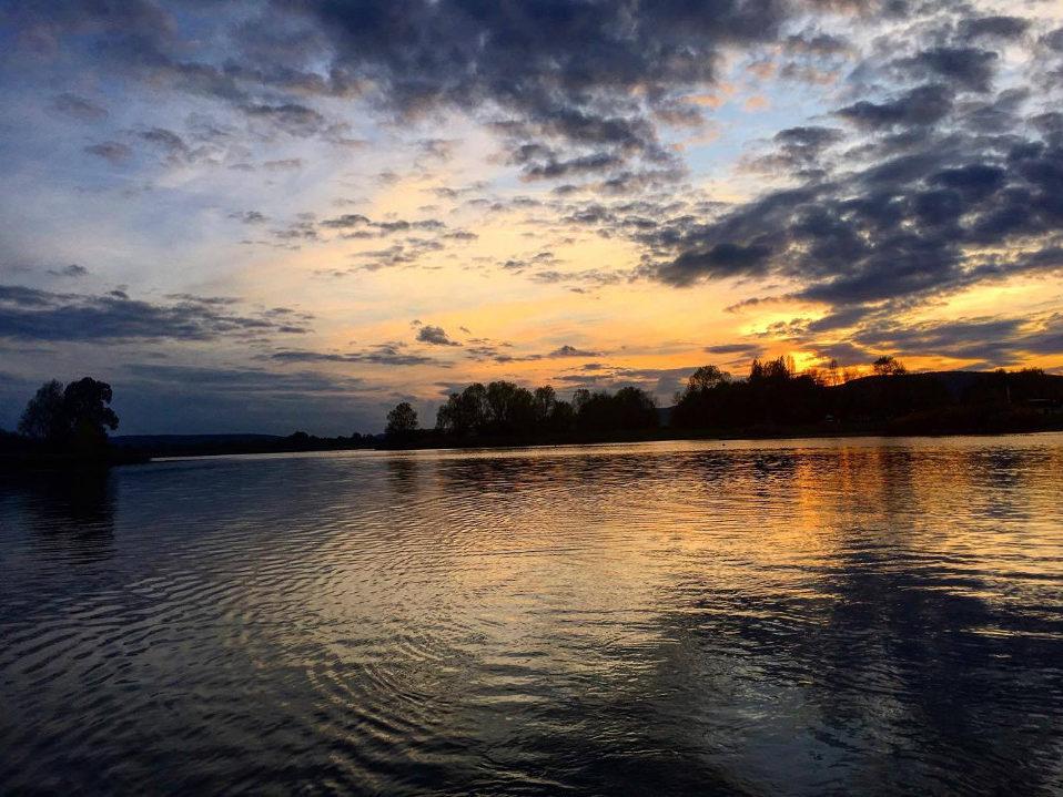 Pêche au lac de Madine